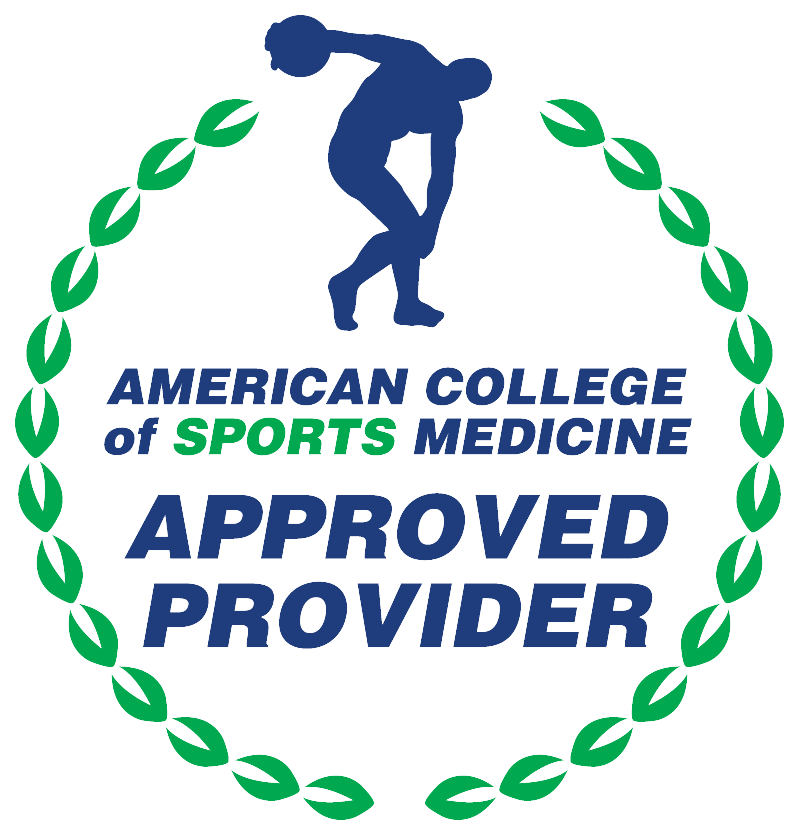 ACSM approved provider 2017.10