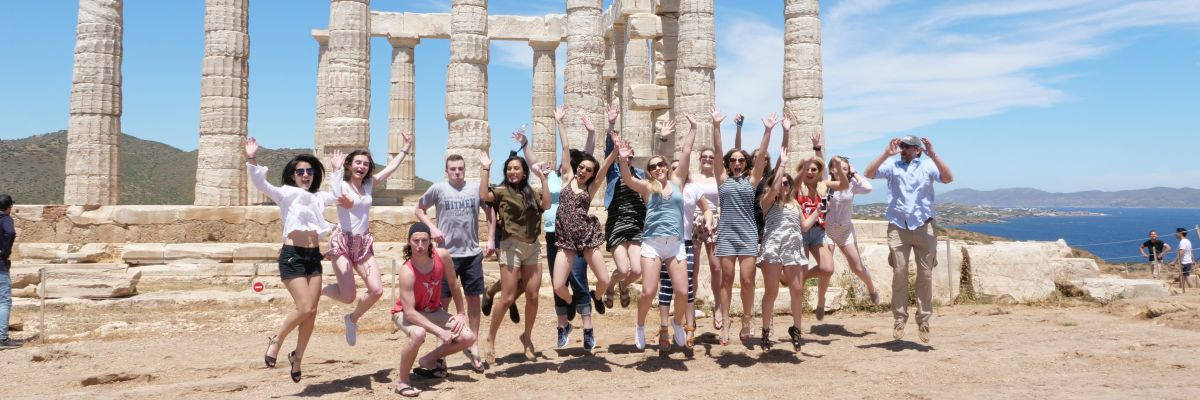 group photo 2017 Study Abroad